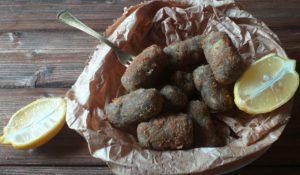 Crocchette di patate, tartufo e scamorza affumicata